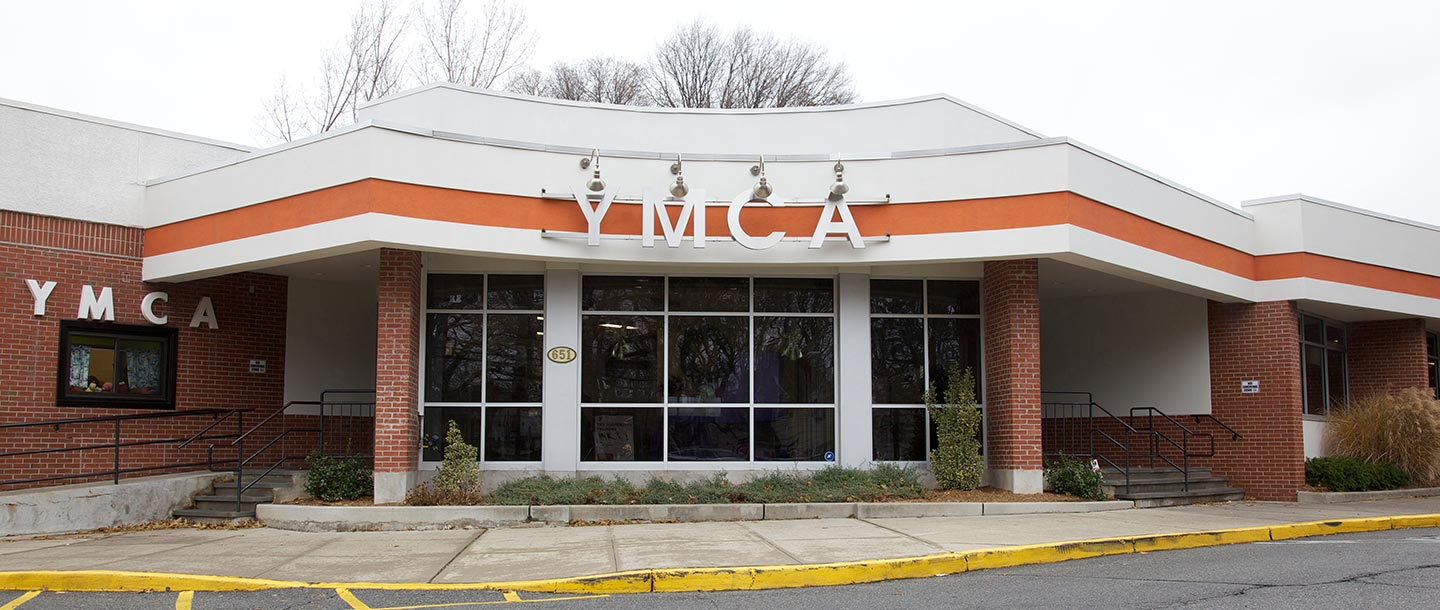 Entrance to Broadway YMCA in Staten Island