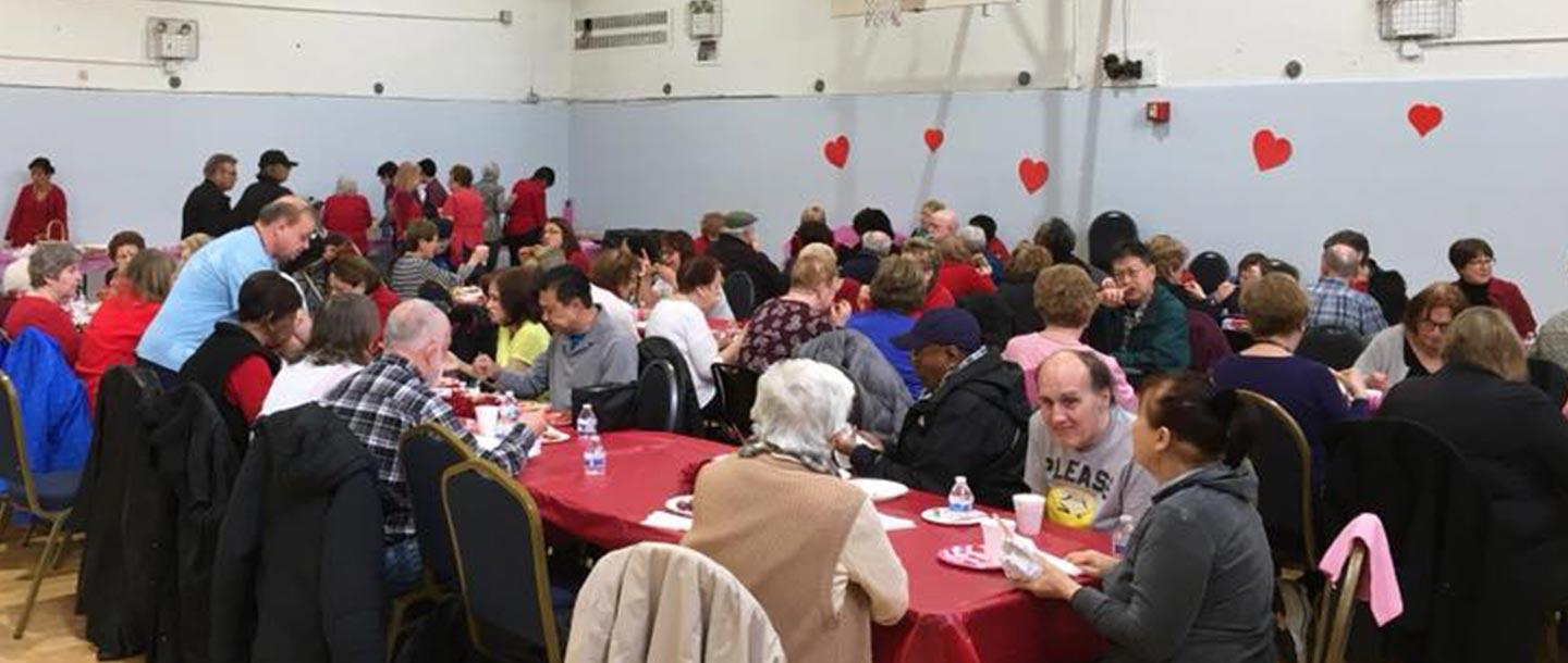 Community event at Broadway YMCA in Staten Island