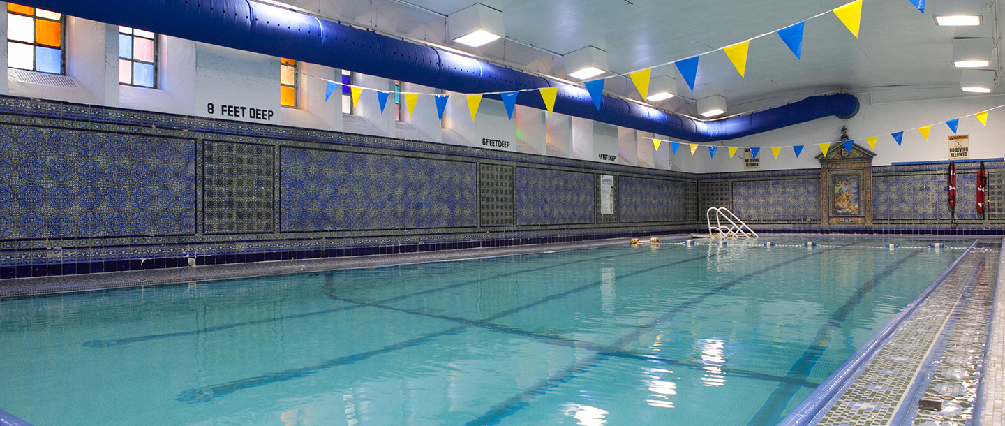 Small pool at the West Side YMCA