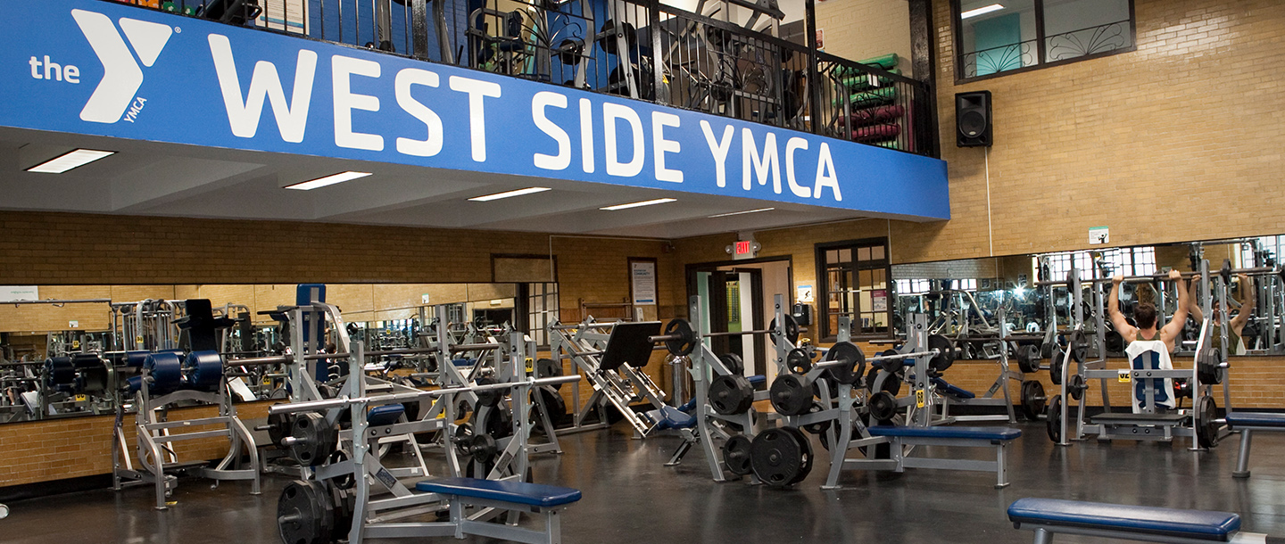 Weight Room at the West Side YMCA in Manhattan