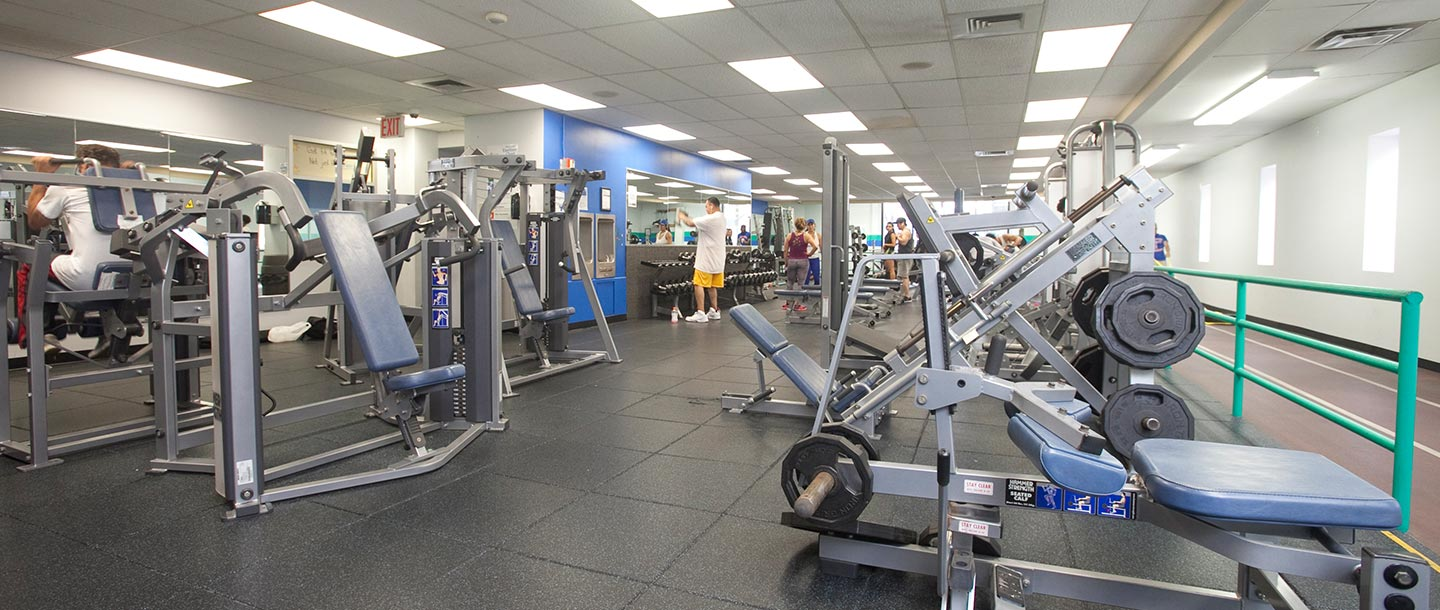 Strength training facility at LIC YMCA