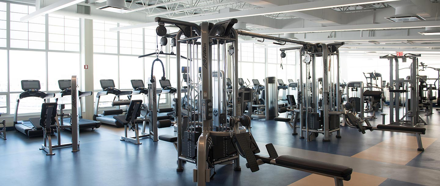Rockaway YMCA fitness center