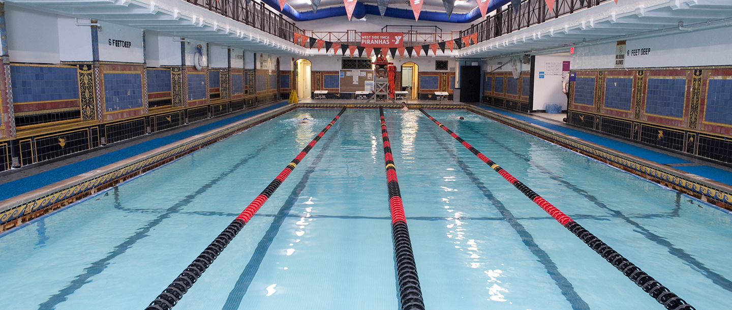 Pool at the West Side YMCA