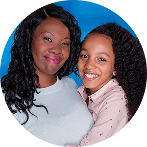 Mother and daughter from Annual Campaign 2018