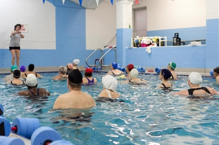 Prospect park swimming new york city 39 s ymca - Pools on the park swimming lessons ...