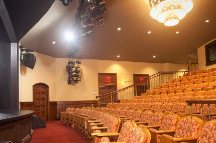 Marjorie S. Deane Little Theater at the YMCA in Manhattan