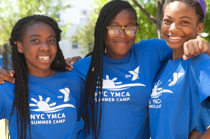 Summer camp fun for kids at the YMCA